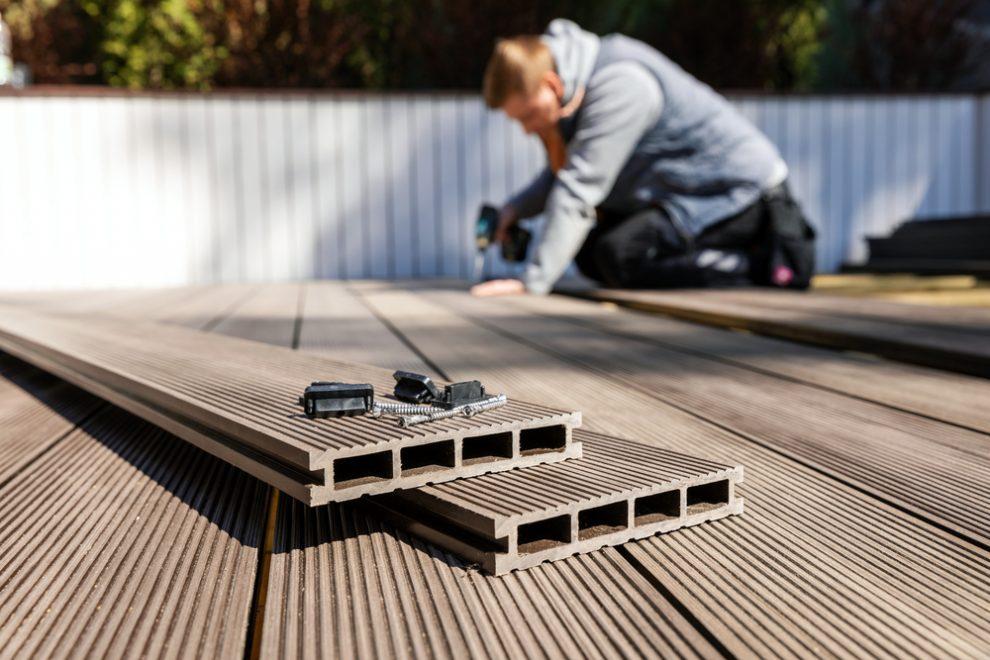 composite decking installation