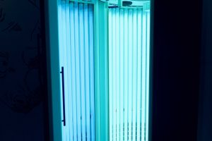 stand-up sunbed