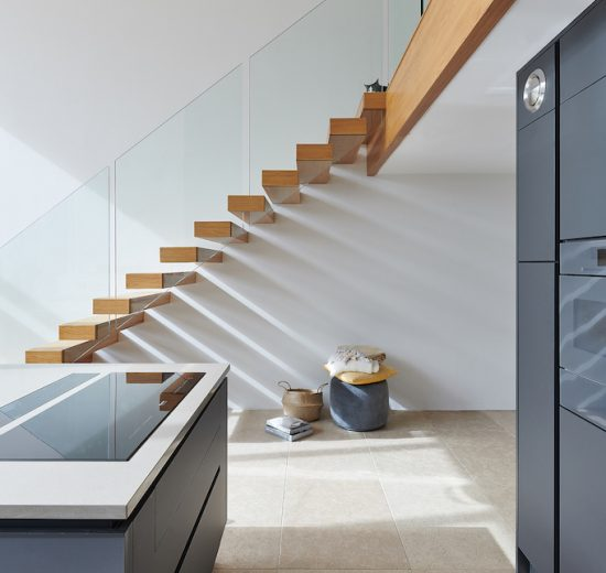 floating staircase design