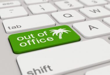 out of office keyboard key